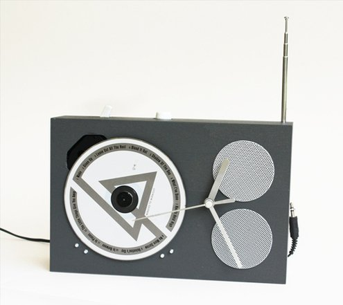 Dieter Rams inspired cd player/clock