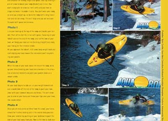 Snow causes boaters to go to desperate lengths! - Rapid, The Whitewater Kayaking and Canoeing Magazine
