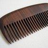 Handmade wooden beard comb