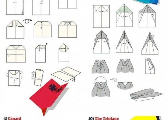 Как сделать самолет из бумаги далеко летающий