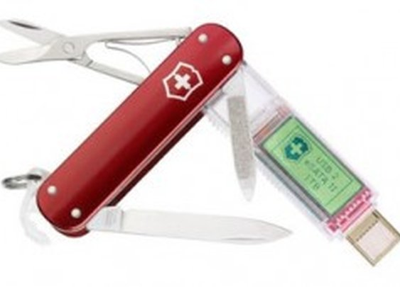 This Swiss Army Knife Comes With a 1 TB USB Flash Drive