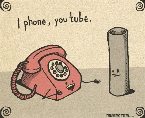 Friday Funny I Phone and You Tube - Family Tech Reviews