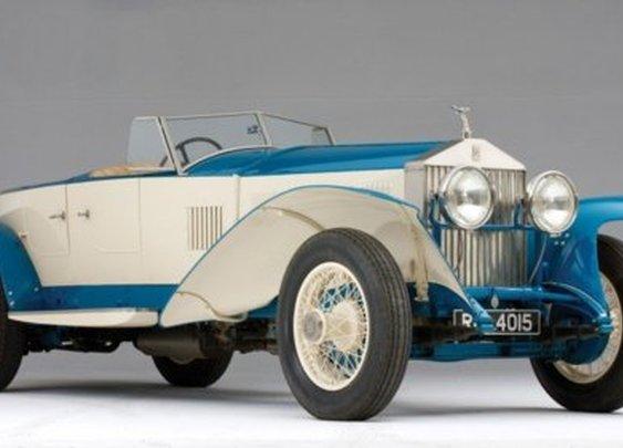 1925 Rolls Royce 10EX Concept Car