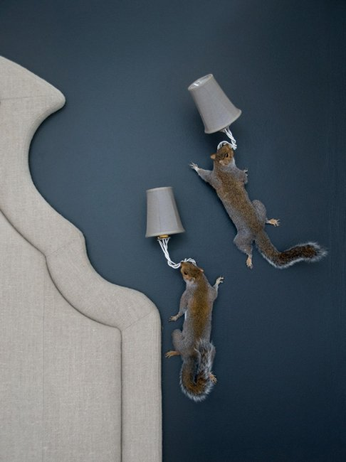 Beautiful Taxidermy Lamps