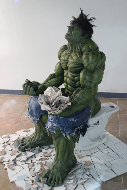 Don't Make Hulk Constipated. You Wouldn't Like Hulk When He's Constipated.