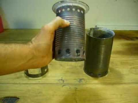 Amp stoves homemade wood camp stoves for Diy camp stove