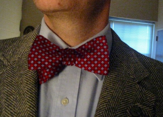 Bowties and Tweed are cool.