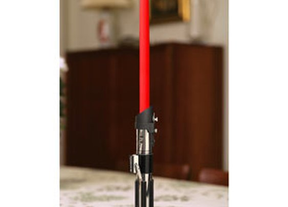 ThinkGeek :: Star Wars Lightsaber Candlestick