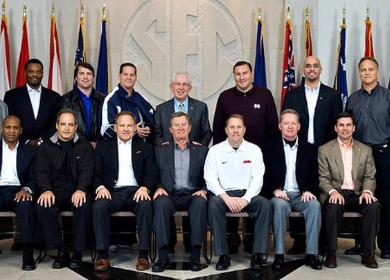 SEC Coaches Photo