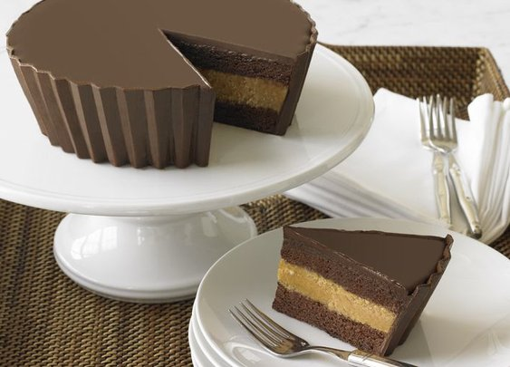 Resses Peanut Butter Cake