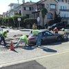 Porsche stuck in wet cement: Proof karma exists?