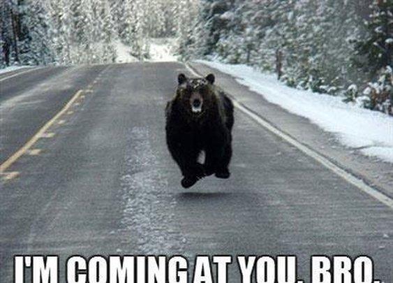 I'm Coming at You, Bro!