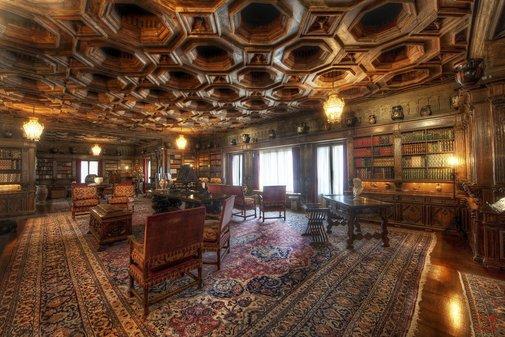 William Randolph Hearst's library