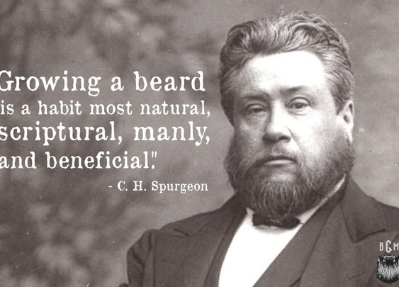 Beards...natural, scriptural, manly, and beneficial...