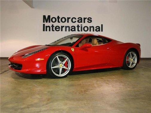 2011 Ferrari 458 Italia | What One Million Dollars Buy