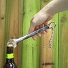The Beer Tool Bottle Opener + Red, White, & Blue Paracord = AMERICA!!!