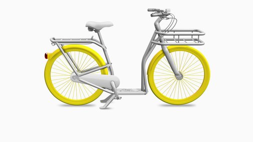 Philippe Starck And Peugeot Create A Hybrid Bike-Scooter, For A Bike-Sharing Program   Co.Design: business + innovation + design