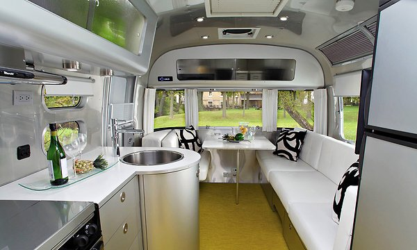 Christopher Deam Brings Airstream's Interior Up to Date