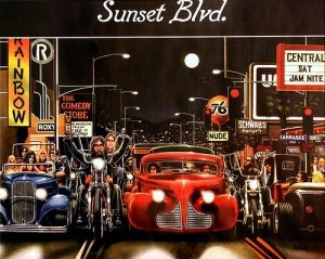 EASYRIDERS DAVE MANN | BIKER ART « The Selvedge Yard