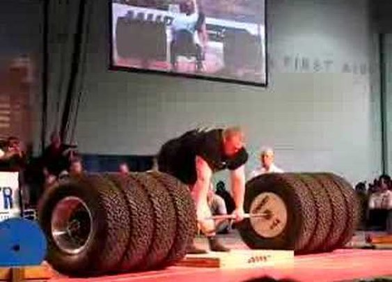 Benedikt Magnusson 1100 Pound Deadlift World Record