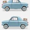 Vespa 400 micro car | iainclaridge.net