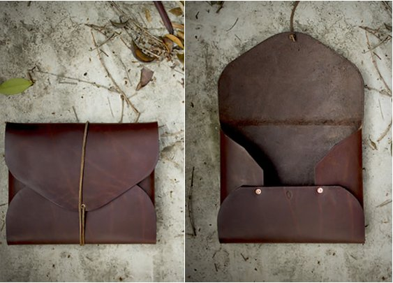 LEATHER PORTFOLIOS | BY FIELD THEORIES