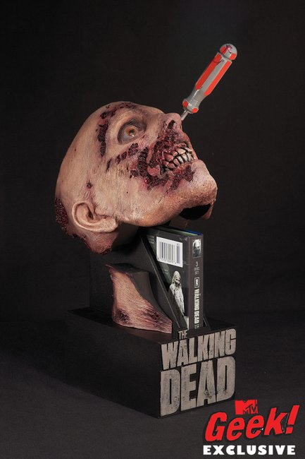 "AMC's ""The Walking Dead"" DVD Case From McFarlane Toys"