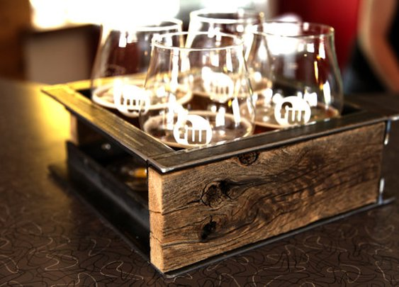 Beer Serving Tray