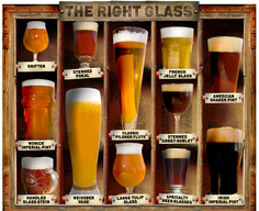 The Right Beer Glass