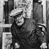 ☞ renoir, at the end of his life; arthritic, but still painting