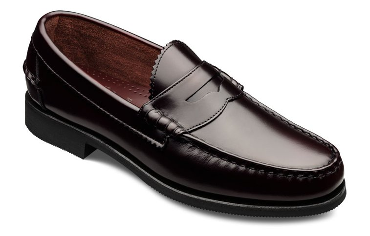 Ivy Style » Home of the Gentry: The Allen-Edmonds Beefroll Penny Loafer
