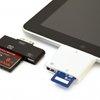 iPad CF and SD Card Readers