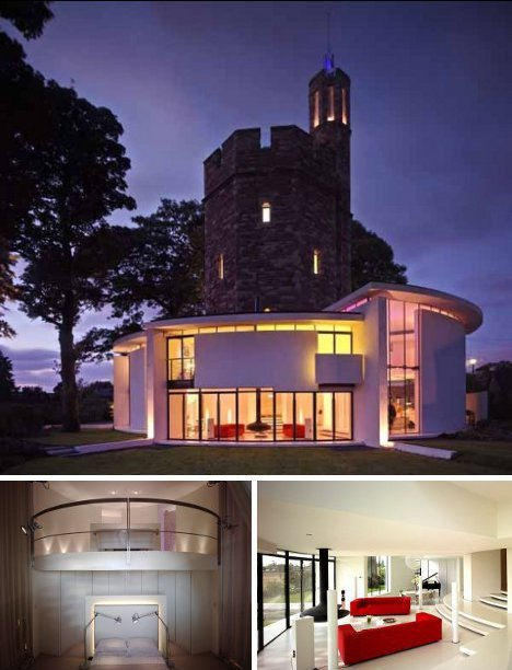 Modern Castles: 7 Cool Converted Watertower Houses   WebUrbanist