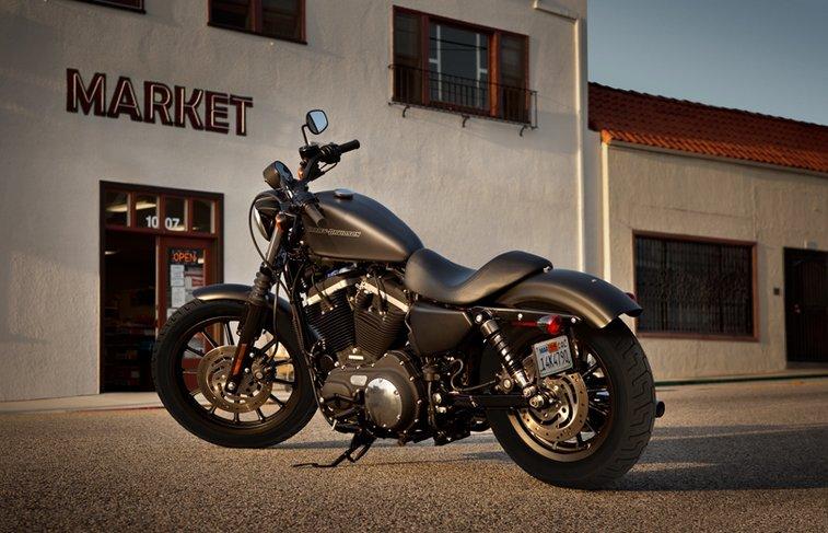 Sportster Iron 883 Xl883n Custom Motor Bikes Harley