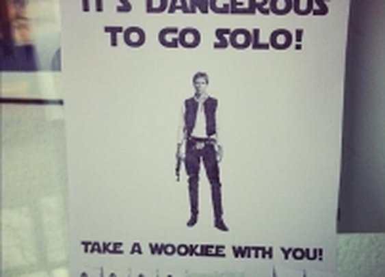Take a Wookie with ya!