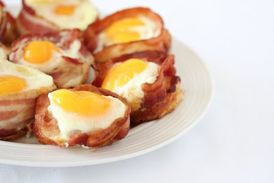 Bacon Egg Pancake Cups | Kirbie's Cravings | A San Diego food blog