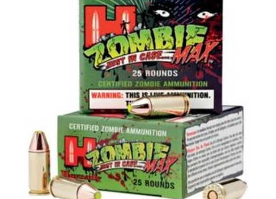 Zombie bullets... oh yeah!