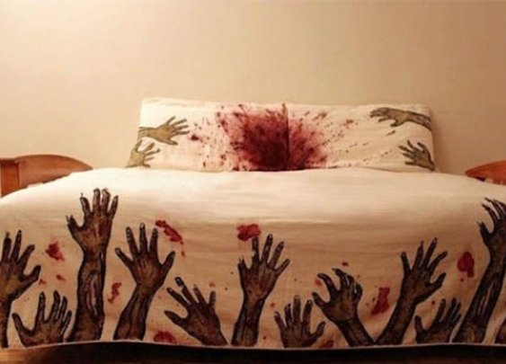 Zombie Bedding Set Ensures You Never Sleep Alone