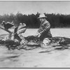 Teddy Roosevelt on a moose