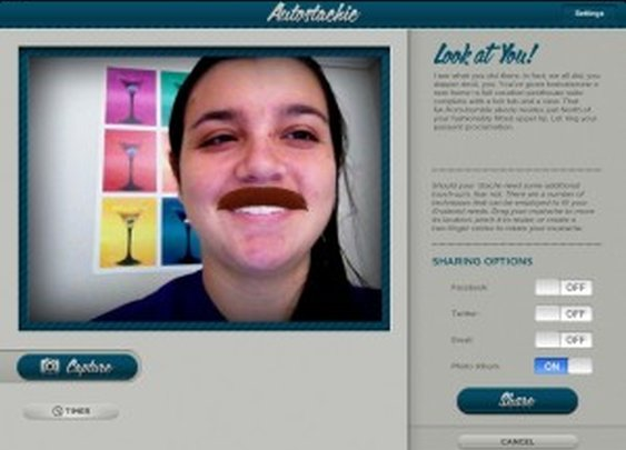 Mustaches Find Your Face With Autostachic -- AppAdvice