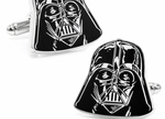 Darth Vader Head Cufflinks