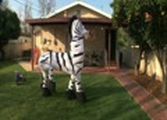 You probably thought this was a real zebra by Rhett and Link. [VIDEO]