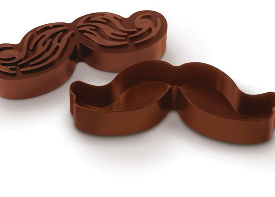 Munchstache: Moustache-shaped Cookie Cutters