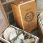 Groomsmen 4 piece set Wooden Men's Shave Set by DirtyDeedsSoaps