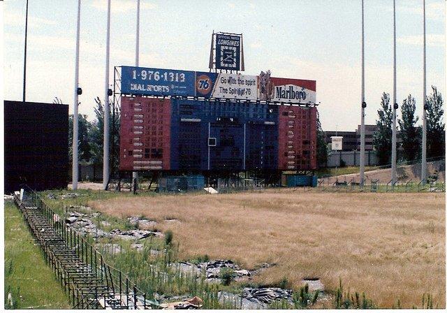 Abandoned Metropolitan Stadium