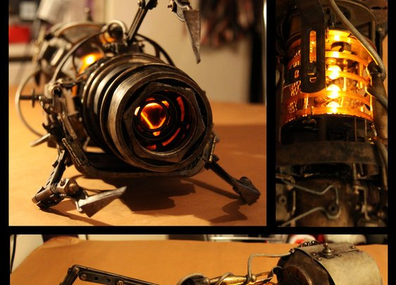 Aperture Steampunk Handheld Portal Device by ~batman-n-bananas on deviantART