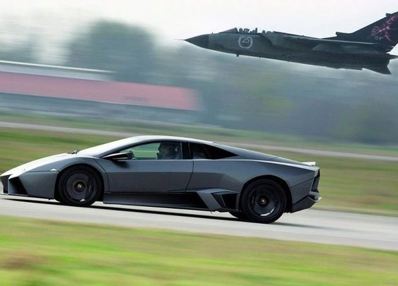 Lambo/Fighter Jet. Nuff Said