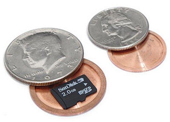 ThinkGeek :: Hollow Spy Coins