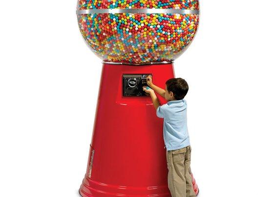 The 14,450 Gumball Machine.
