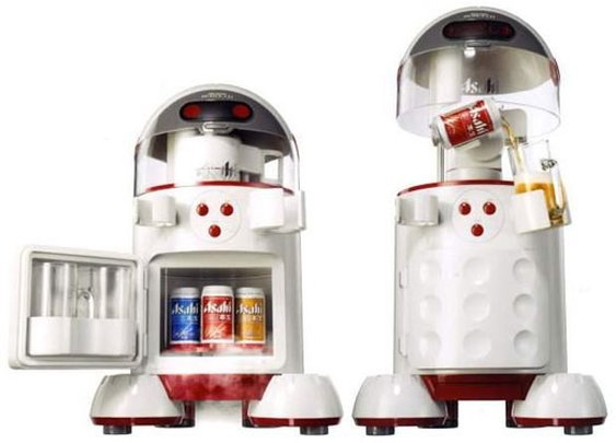 Asahi Beerbot Beer pouring robot